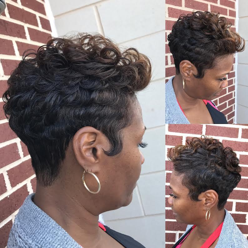 atlanta short hair cut the cut life fabulous inspirations hair salon
