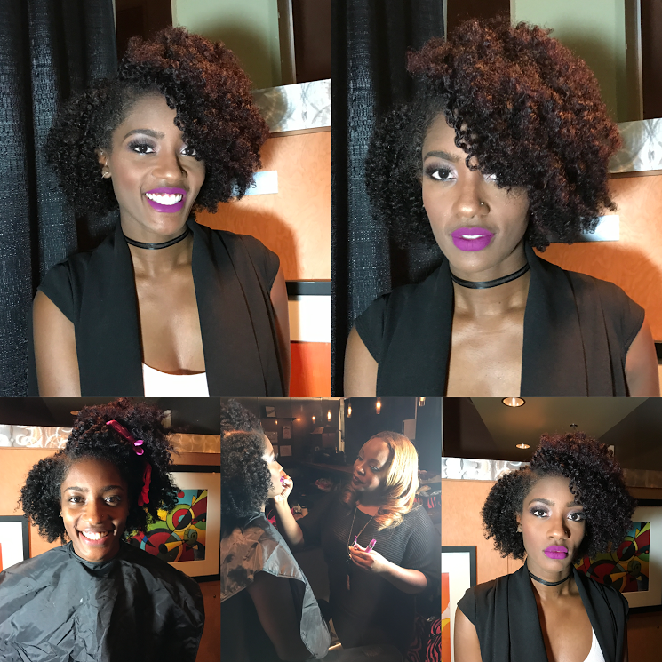 atlanta twin team makeup artist and hair stylist fabulous inspiration bold lip neutral eyeshadow makeup