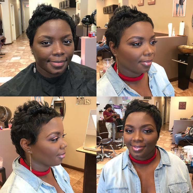 atlanta twin team makeup artist and hair stylist fabulous inspiration glam makeup