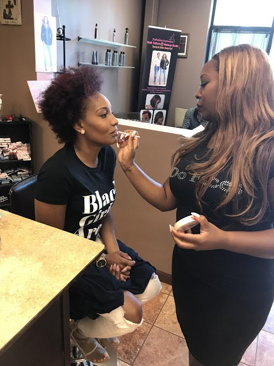 atlanta twin team makeup artist and hair stylist fabulous inspiration lipgloss