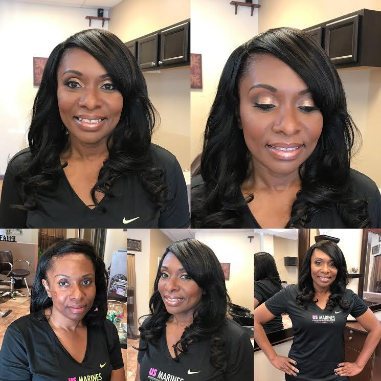 atlanta twin team makeup artist and hair stylist fabulous inspiration neutral makeup
