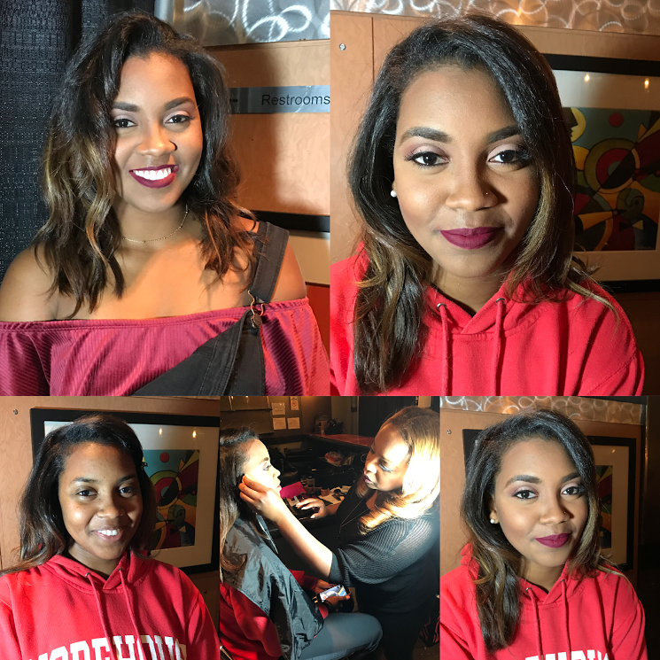 atlanta twin team makeup artist and hair stylist fabulous inspiration prom makeup