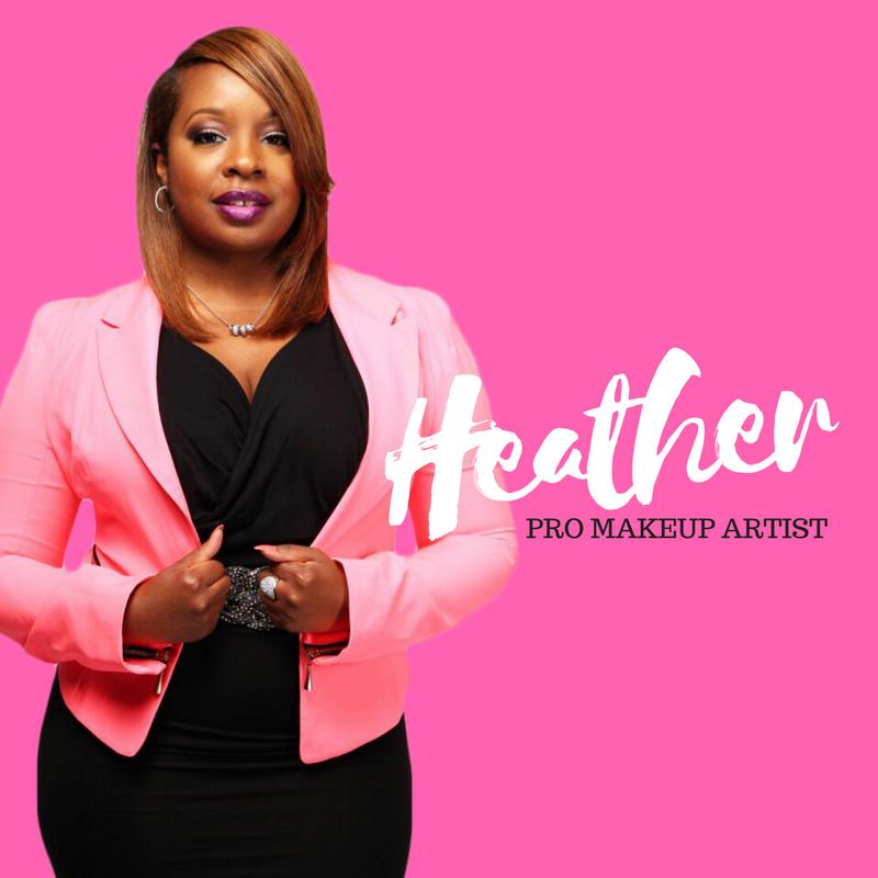 Atlanta twin team hair stylist and makeup artist Heather Tanner