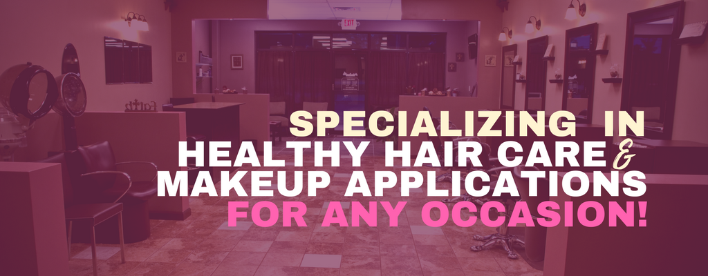 fabinspiration BANNERS specializing healthy hair care makeup application for any occasion